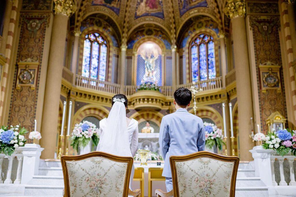 Wedding at Assumption Cathedral งานแต่งที่โบสถ์อัสสัมชัญ